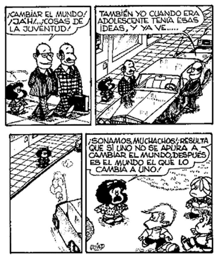 Mafalda – Cambiar elmundo